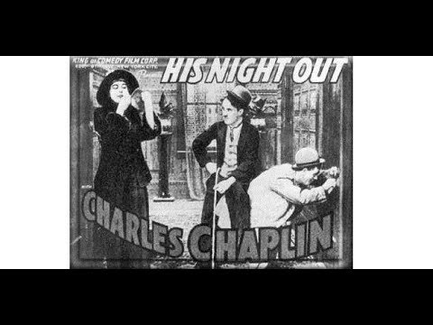 A Night Out 1915 Charlie Chaplin stars Ben Turpin, Leo White and Bud Jamison