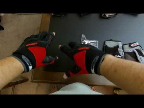 Sailing Gloves: Harken Reflex versus Gill Championship