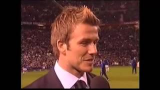 Nonton David Beckham says Goodbye to the Manchester United Fans - March 2007 Film Subtitle Indonesia Streaming Movie Download