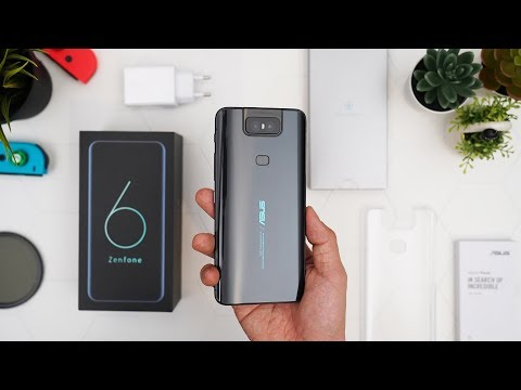 Unboxing Asus Zenfone 6 Indonesia!