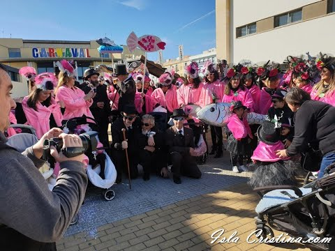 Cortejo Fúnebre de la Sardina celebrado en Isla Cristina