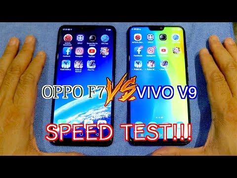 OPPO F7 VS VIVO V9 | Speed Test ทดสอบเรื่องความเร็ว!!!