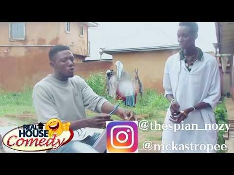 Mistaken Hair DYE for DIE (DEATH) (Nigerian Comedy)