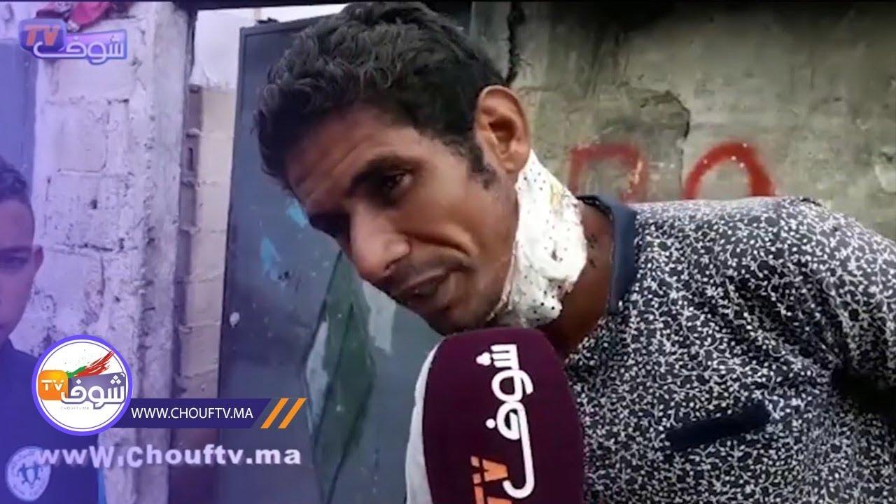 تصريح صادم لضحية المجرم اللي قطع لمتشرد راسو فغابة بالمحمدية.. كان هاز جنوية فـ   خارج البلاطو