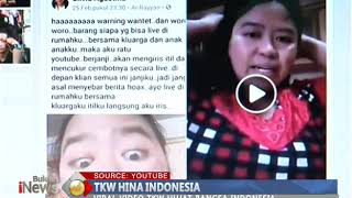 Video Heboh Video TKW Hina Indonesia Bikin Warganet Geram - BIP 10/03 MP3, 3GP, MP4, WEBM, AVI, FLV Februari 2019