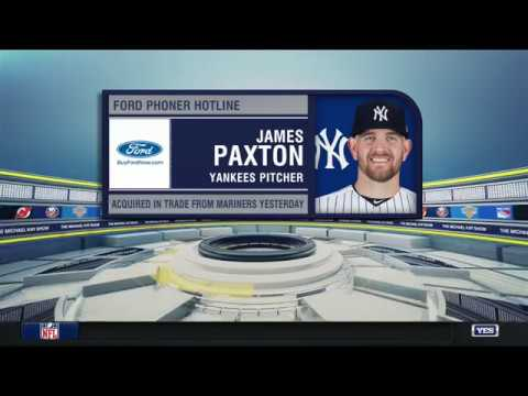 Video: James Paxton discusses his trade to the Yankees