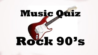 Video Music Quiz - Rock 90's MP3, 3GP, MP4, WEBM, AVI, FLV November 2017