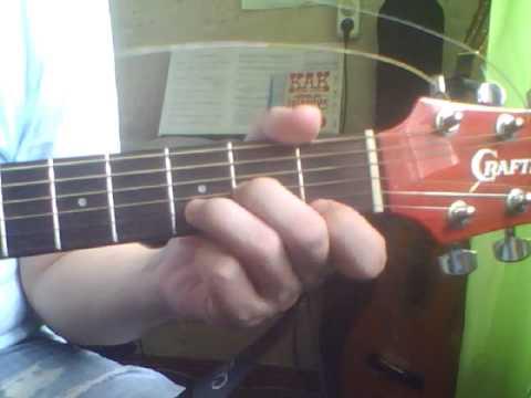 Зацепила (Бандера) Аккорды на гитаре