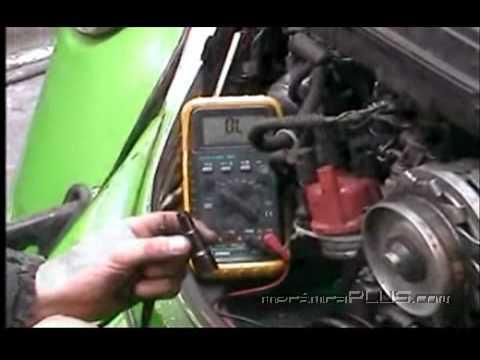 Afinación VW Sedán - Cambio y calibración de bujias y checado de cables 3