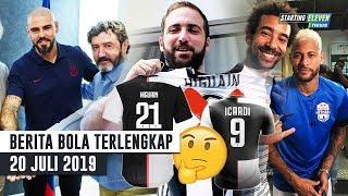 Video HEBOH! Higuain Pakai No.21, Icardi No.9? 😱 Musuh Terkuat Neymar 🤔 Valdes RESMI Kembali Ke Barca MP3, 3GP, MP4, WEBM, AVI, FLV Juli 2019