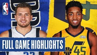 MAVERICKS at JAZZ | FULL GAME HIGHLIGHTS | January 25, 2020 by NBA
