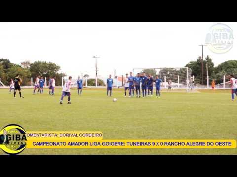 CAMPEONATO AMADOR 2008 DORIVAL FALA TUNEIRAS 9 X 0 RANCHO ALEGRE DO OESTE