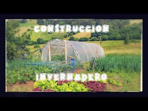 Construcción de un invernadero familiar