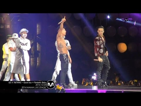 [MPD In 2014 MAMA] 141203 GDxTAETANG - Good Boy + Fantastic Baby FANCAM