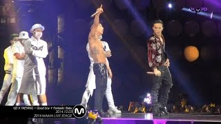 Video [MPD in 2014 MAMA] 141203 GDxTAETANG - Good boy + Fantastic Baby FANCAM MP3, 3GP, MP4, WEBM, AVI, FLV Agustus 2018
