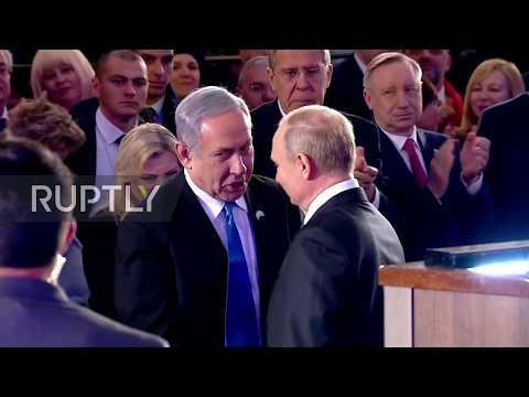 Путин откри паметник на загиналите при обсадата на Ленинград в Йерусалим