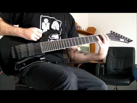 Deftones - 976 Evil, ESP Stef B8 8 String Guitar Cover