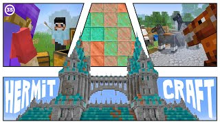 Huge Castle Update and Horse Science :: Hermitcraft #35