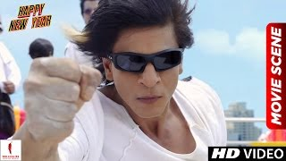Nonton Charlie S Kung Fu Power   Happy New Year Scenes   Shah Rukh Khan  Deepika Padukone Film Subtitle Indonesia Streaming Movie Download
