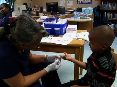 Nursing Students Help Test Flint Kids for Lead