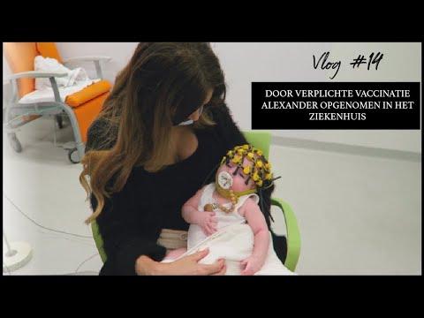 Door verplichte vaccinatie Alexander opgenomen in het ziekenhuis
