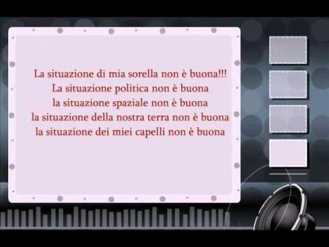 , title : 'Adriano Celentano-La Situazione testo ( lyrics )'