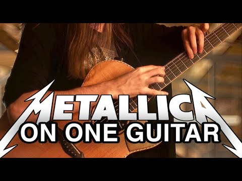 Mike Dawes – One (Metallica) – Solo Guitar