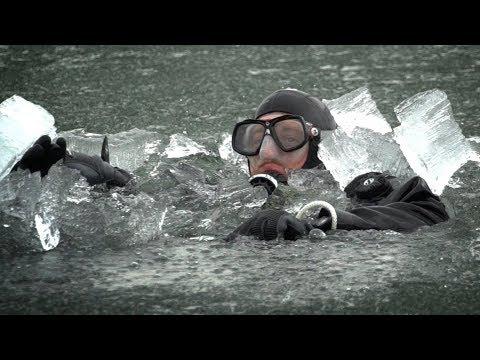 Tauchen im Winter - Eistauchen