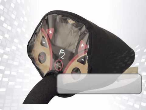Neoprene Rain Cover for Fisher F2 Metal Detector - metaldetector.com