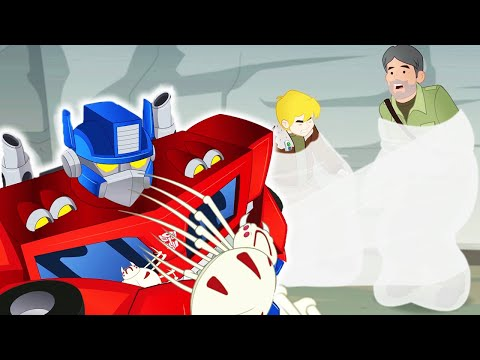 Transformers Official | Journey to the Centre of the Earth | Full Episode | Transformers Rescue Bots