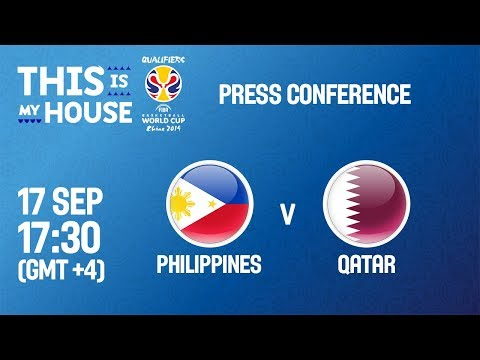 Philippines v Qatar - Press Conference - FIBA Basketball World Cup 2019 Asian Qualifiers