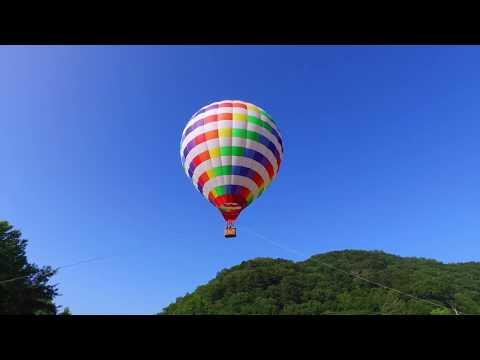奥日光 熱気球飛行体験