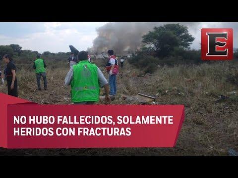 ¿Qué pasó con el avión de Aeroméxico accidentado en Durango?