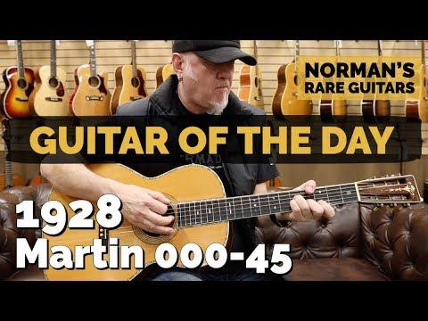 Guitar of the Day: 1928 Martin 000-45 | Norman's Rare Guitars
