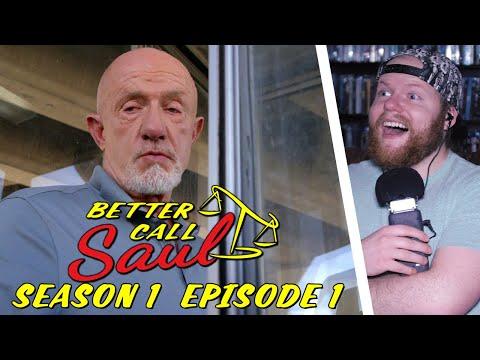 BETTER CALL SAUL Season 1 Episode 1: Uno REACTION