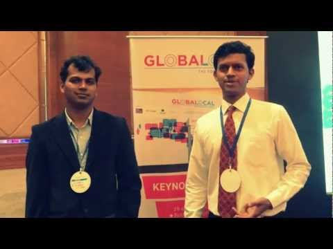globalocal - Gaurang Kanvinde & Saurabh Gupta, Accessible Systems talk about their experiences at the Globalocal 2013.