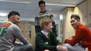 Video School pupils get a Christmas surprise from Coutinho, Firmino and Ox | THE REACTIONS ARE PRICELESS! MP3, 3GP, MP4, WEBM, AVI, FLV Desember 2018