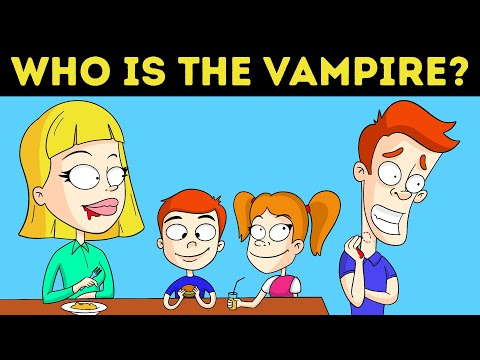 22 VAMPIRE RIDDLES FOR MYSTERY EXPERTS