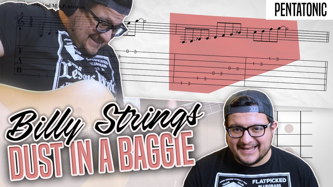 How To Play Billy Strings' Dust In A Baggie – Advanced Bluegrass Guitar Lesson