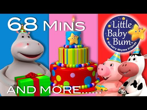 Happy Birthday Song | Little Baby Bum | Nursery Rhymes For Babies | Songs For Kids