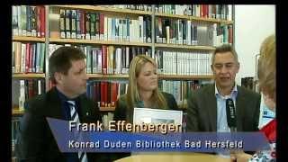 Bibliothekspreis 2014 geht an die Konrad Duden Bibliothek Bad Hersfeld