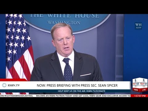 LIVE: White House Press Briefing with Press Secretary Sean Spicer 6/20/17