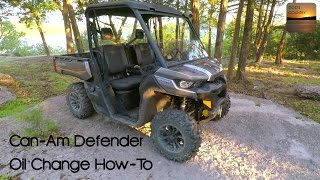 5. Can-Am Defender Oil Change: How-To