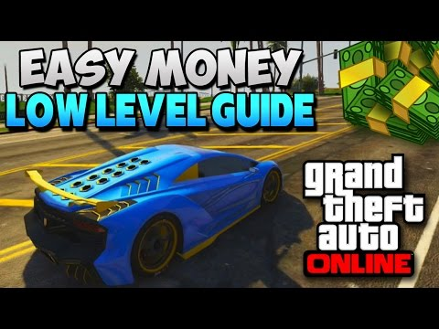 GTA 5 How To Make Money Fast Online (Low Levels Get Money) GTA V Gameplay [HOW TO GTA 5]