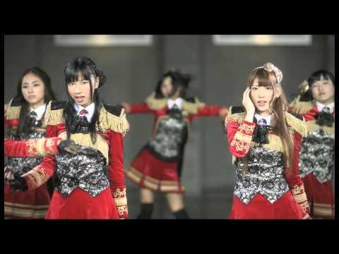 『赤い情熱』 フルPV (SUPER☆GiRLS #スパガ )