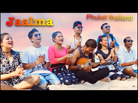 Jaalma resham filili music video by scorpion group From phuket Thailand  2015