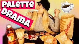 Tim Hortons Eating Show - Palette Refunds INTERESTING UPDATE! by Piink Sparkles