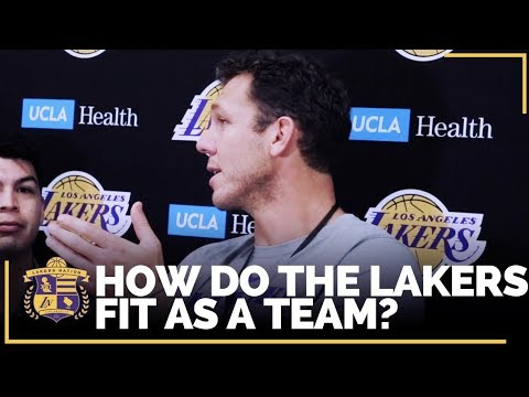 Video: Lakers Training Camp: Luke On How All the Pieces Of the Team Will Fit Together