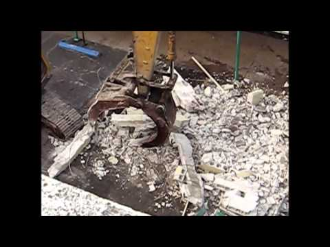 Demolition of Miami Jackson High