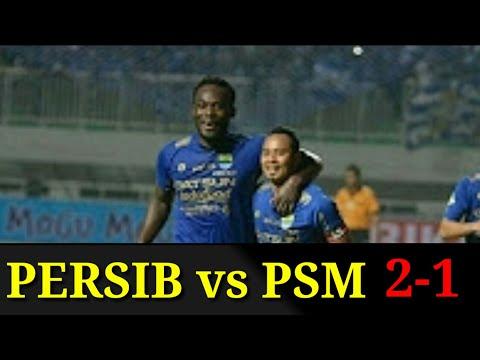 Cuplikan Gol Persib vs PSM 2-1 Liga 1 Gojek Traveloka  2017